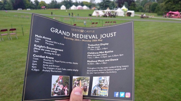 bd04102412cf Back to Leeds Castle and the medieval fair